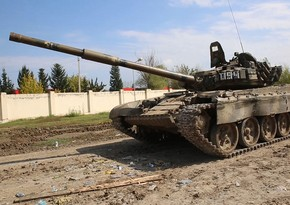 Video footage of enemy's another seized military equipment