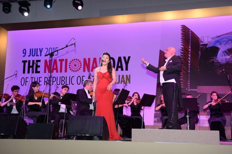 Heydar Aliyev Foundation holds concert within Azerbaijan National Day in Expo Milano 2015