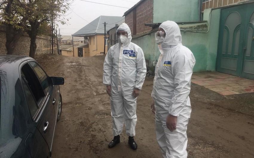 Koronavirus xəstəsi karantin postunda saxlanıldı
