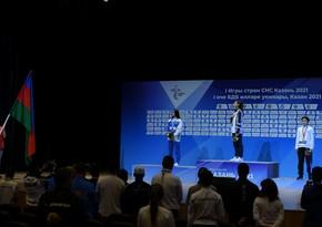 MDB Oyunları: Son gündə medal qazanan Azərbaycan idmançıları mükafatlandırılıb