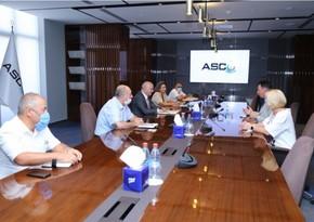 ASCO-da Rusiyanın dənizçilik təhsili müəssisəsinin rektoru ilə görüş olub