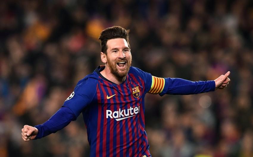Messi Barselona ilə müqaviləsini uzadacaq