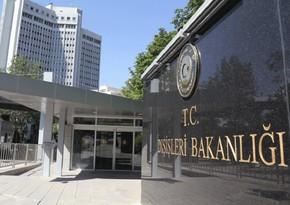 Türkiyə vətəndaşının öldürülməsi ilə bağlı Yunanıstana nota verib