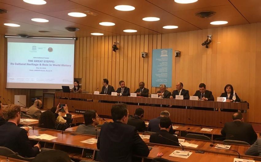 В Париже прошел международный форум, посвященный вкладу тюркской цивилизации в мировую культуру  - ОБНОВЛЕНО