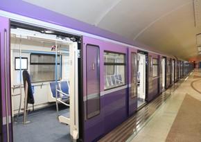 Metronun fəaliyyətinin dayandırılma müddəti uzadıldı