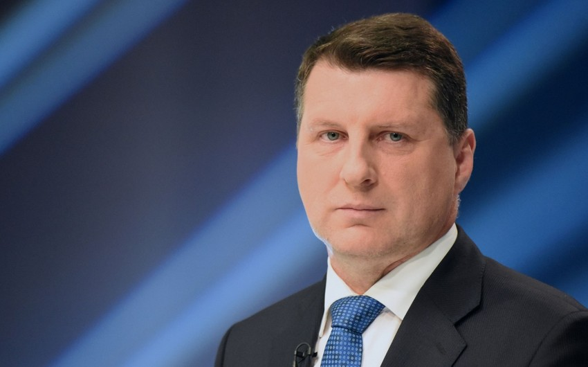 Latviya prezidenti Azərbaycana işgüzar səfərə gəlib