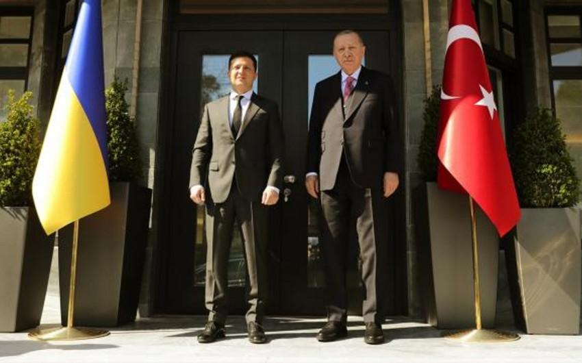 Началась встреча Эрдогана и Зеленского