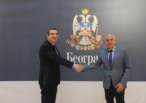 Belgrade mayor suggests establishing cooperation with Baku