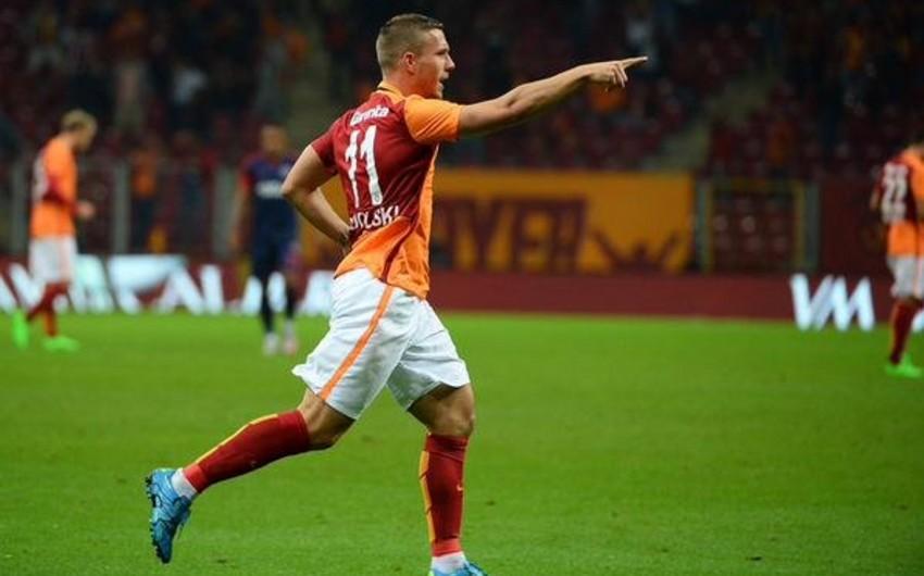 Гол Подольски принес Галатасараю победу в Кубке Турции - ВИДЕО