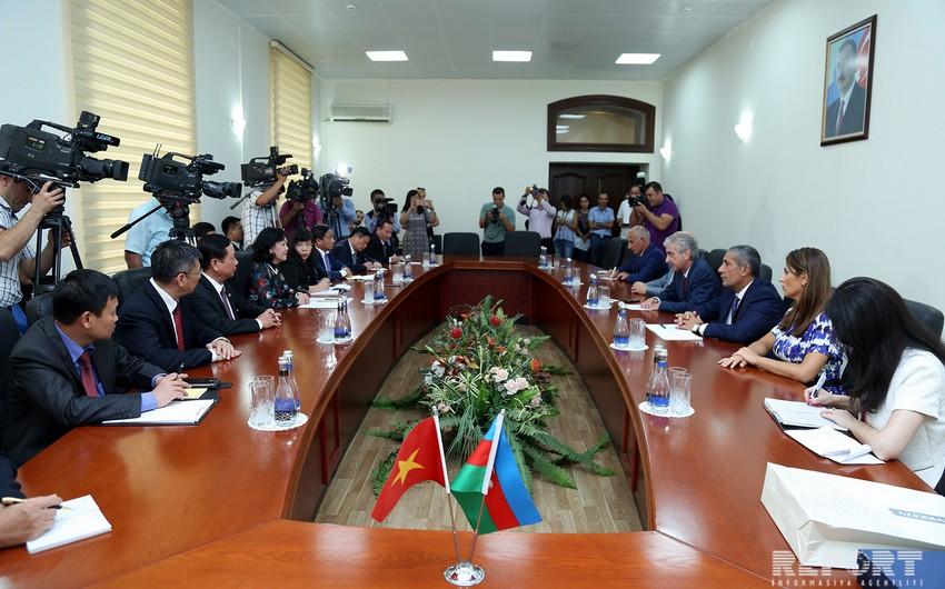 Чыонг Тхи Май: Обучавшиеся в свое время в Азербайджане и изучавшие нефтяную сферу вьетнамцы ныне занимают высокие посты