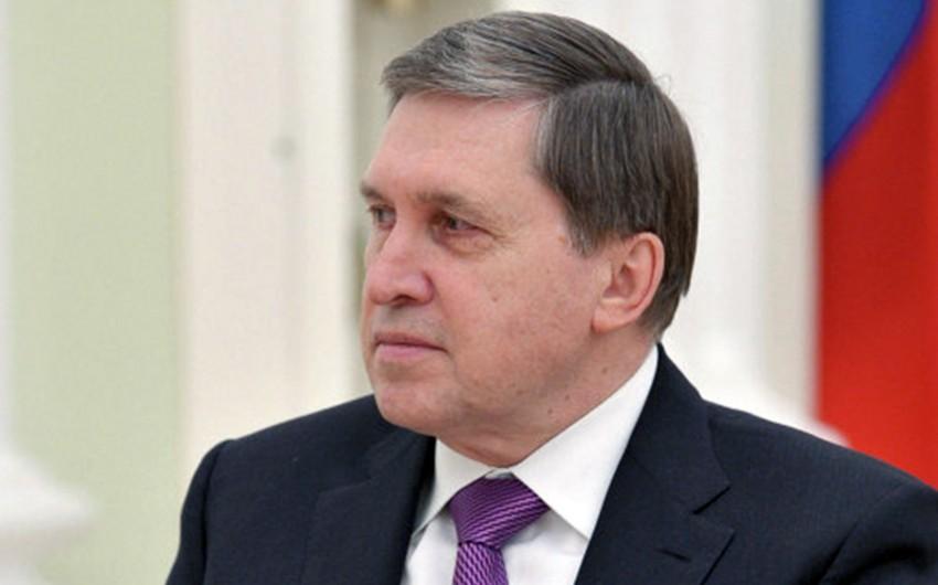 Yuri Uşakov: Rəsmi Moskva və Kiyev diplomatik münasibətlərin statusunu azalda bilər