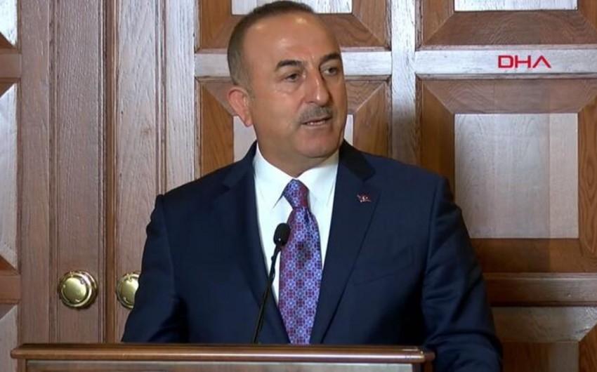 """Türkiyə XİN başçısı: ABŞ-la əməkdaşlığımız nəticə verməsə, bölgəyə girəcəyik"""""""