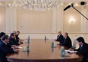 Ильхам Алиев принял спецпредставителя президента Ирана