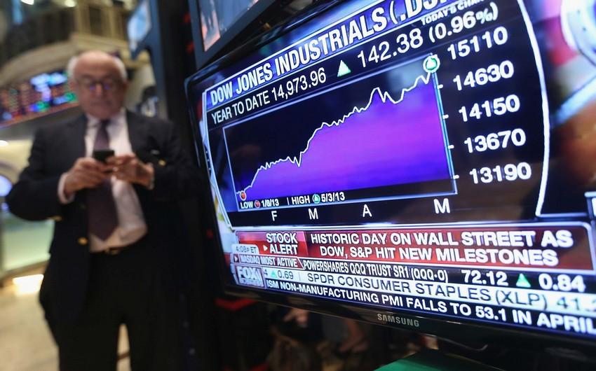 ABŞ-ın Dow Jones indeksi rekord həddə çatıb