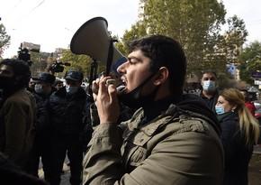 Fevralın 20-də Ermənistanda növbəti etiraz aksiyası keçiriləcək