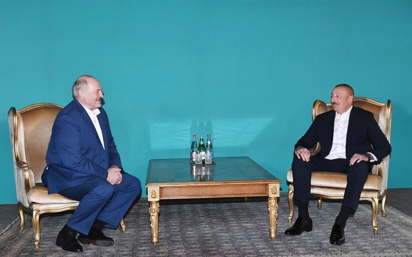 İlham Əliyev ilə Lukaşenkonun qeyri-rəsmi görüşü beş saat davam edib - YENİLƏNİB