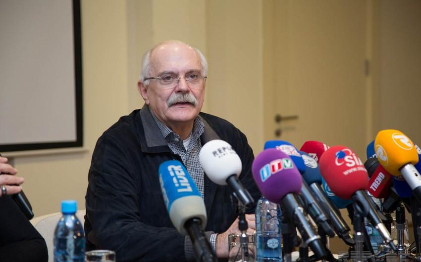 Nikita Mixalkovun 70 illik yubileyi qeyd olunub