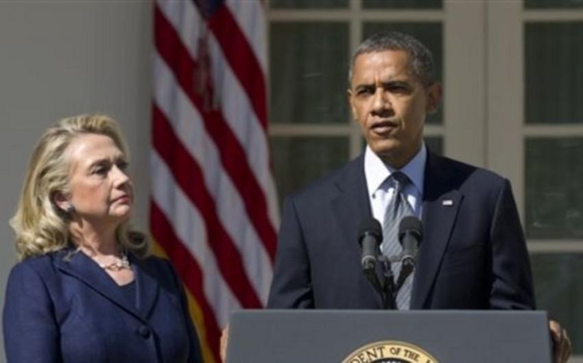 Ağ Ev: Barak Obama ilə Hillari Klinton arasındaki yazışmalar açıqlanmayacaq