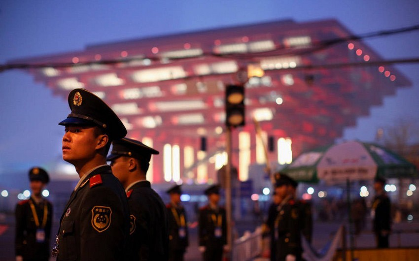 Çində güclü partlayışla əlaqədar 8 nəfər saxlanılıb