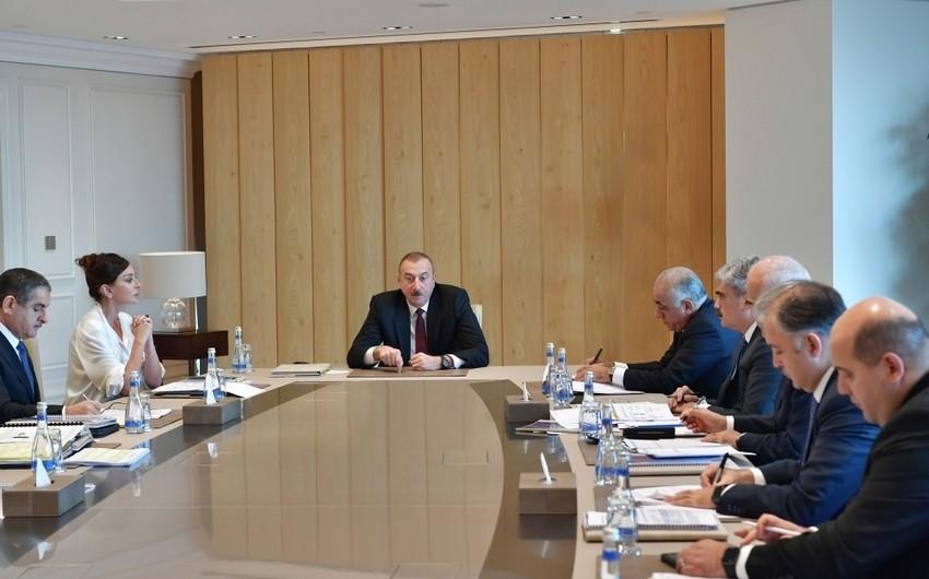 Президент Ильхам Алиев: Уровень инфляции очень низкий