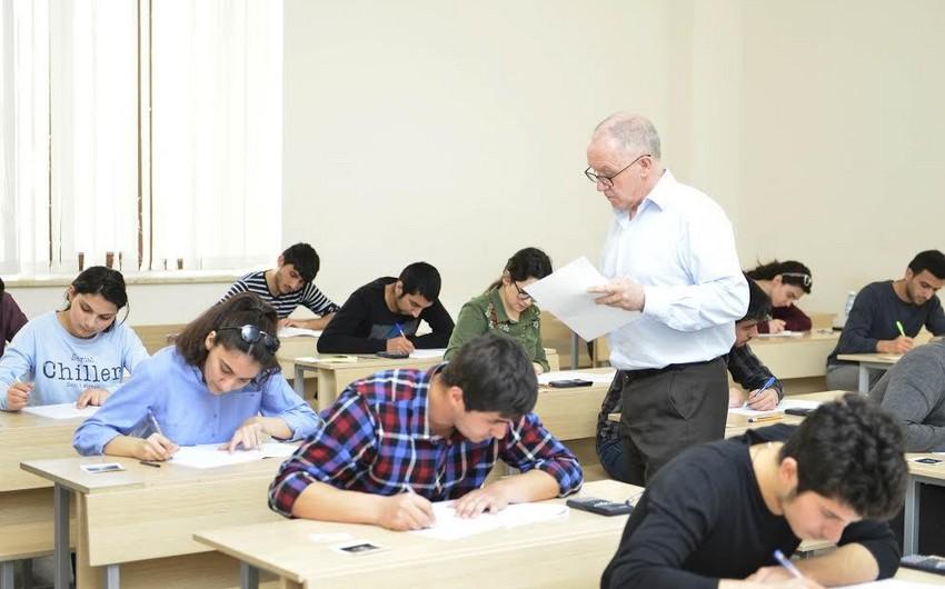 Universitetlər üçün ayrılmış yerlərin sayı açıqlanıb - SİYAHI