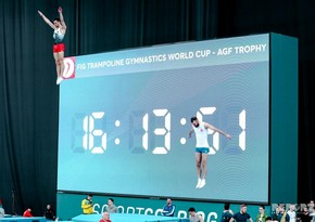 Azerbaijani gymnasts win three medals at international competition