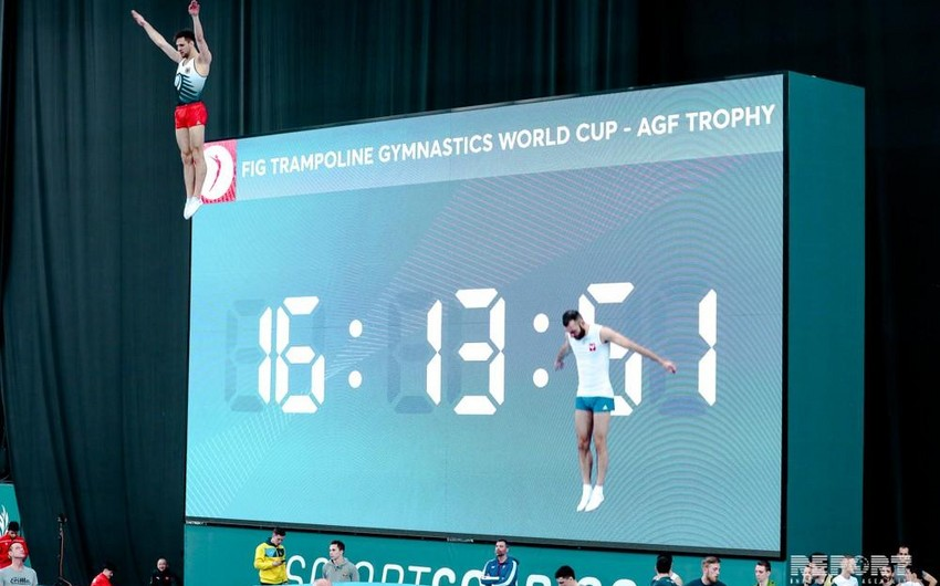 Azərbaycan gimnastları beynəlxalq yarışda 3 medal qazandı