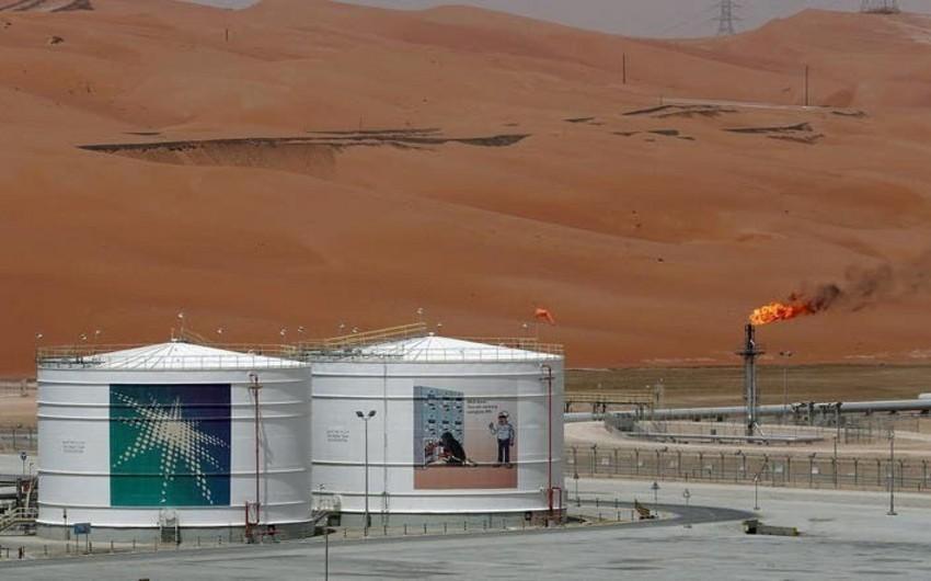 Saudi Aramconun müəssisəsində yanğın baş verib - VİDEO