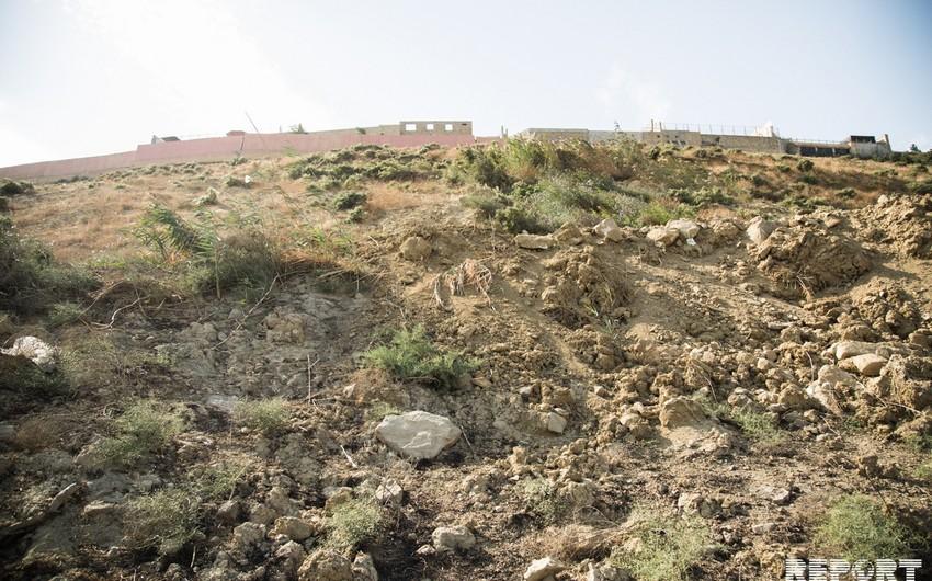 ETSN: Badamdarda sürüşmə sahəsindəki aktivlik gecə boyu davam edib, hasar uçub
