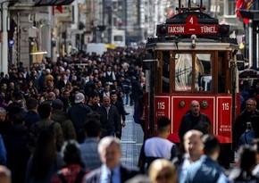 Türkiyə əhalisinin sayı 83,6 milyonu ötdü