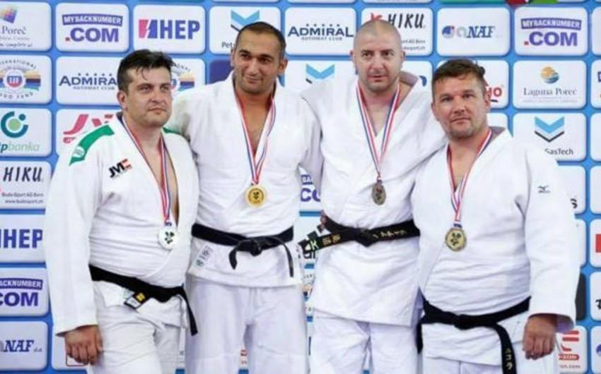 Azərbaycanın veteran cüdoçulardan ibarət yığması dünya çempionatında daha bir medal qazanıb