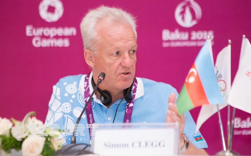 Saymon Kleq: Avropa ölkələrinin əsas televiziya kanallarında yarışlar geniş şəkildə işıqlandırılır