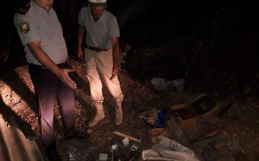 """Qazaxın """"Asfalt zavod"""" adlanan ərazisində çoxlu sayda silah-sursat tapılıb - FOTO"""