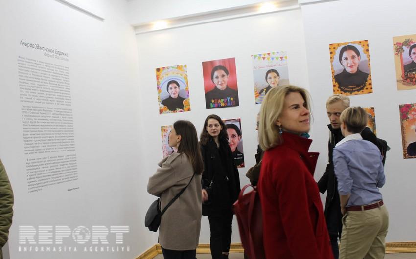 Moskvada azərbaycanlı rəssamın sərgisi açılıb - FOTO