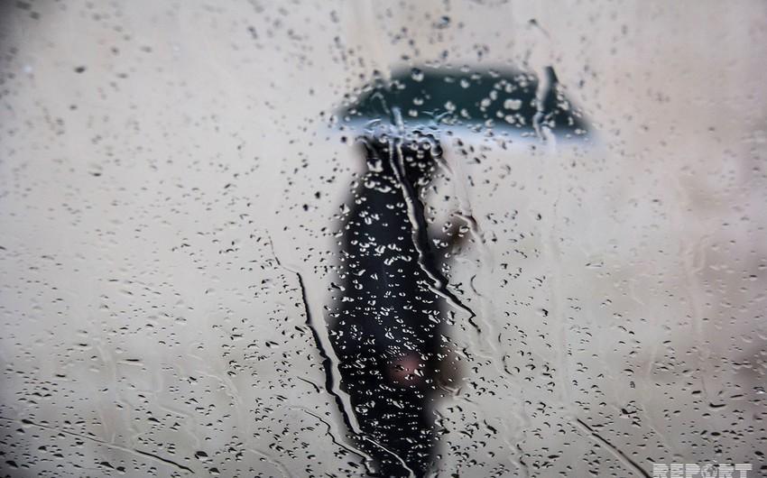 Rain predicted for tomorrow