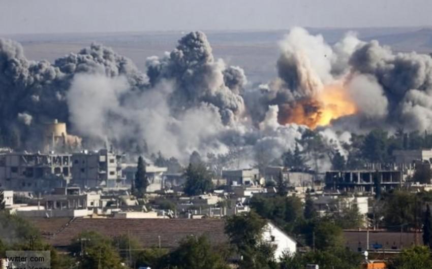 Koalisiya qüvvələri İŞİD-in mövqelərinə 30 havadan zərbə endirib