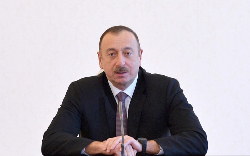Prezident İlham Əliyev: Ədalət olmasa, inkişaf ola bilməz - FOTO