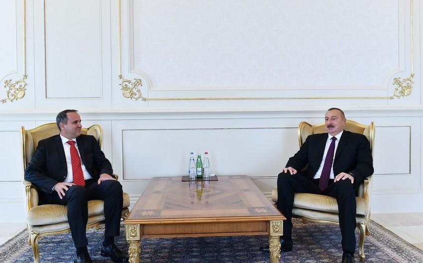 Prezident İlham Əliyev Tacikistan və Macarıstanın yeni səfirlərinin etimadnaməsini qəbul edib - YENİLƏNİB