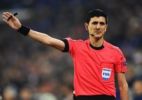 Əliyar Ağayev Yunanıstan klubunun oyununa təyinat aldı