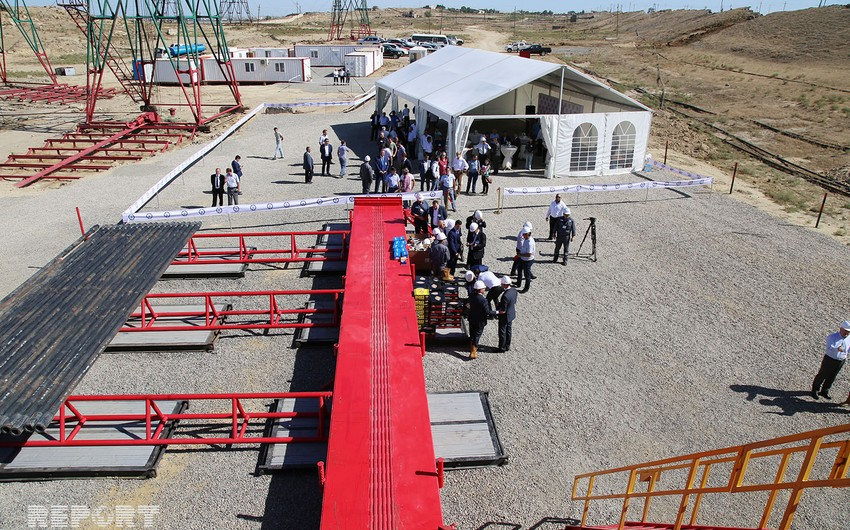 Gulf Drilling Azerbaijan şirkəti yeni qazma qurğusunu təqdim edib