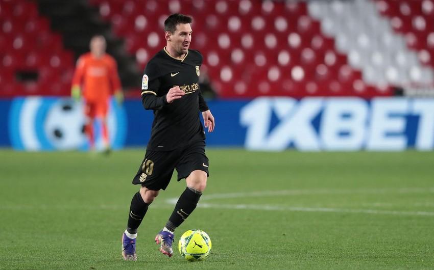 Lionel Messi karyerasında 300-cü məhsuldar ötürməsini verib