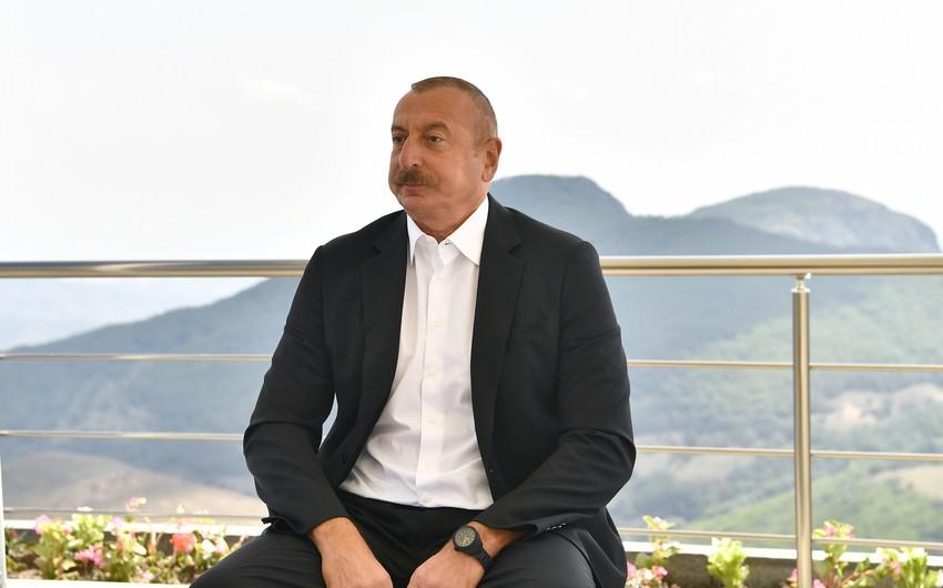 Prezidentdən ermənilərə və havadarlarına mesaj - ŞƏRH