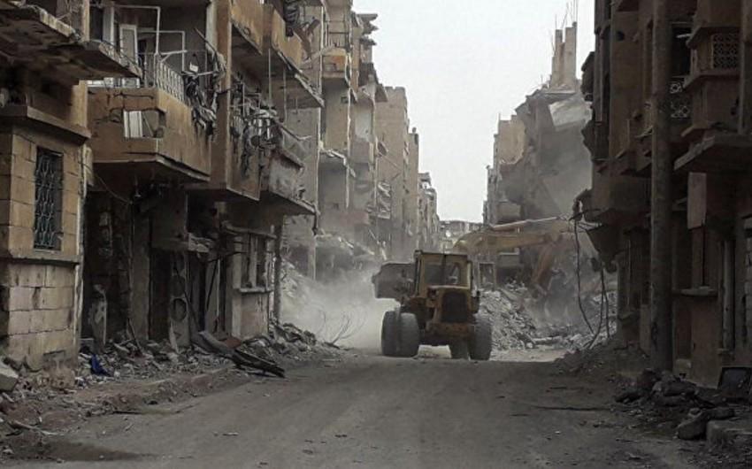 Beynəlxalq koalisiyanın Suriyaya endirdiyi zərbə nəticəsində 14 nəfər həlak olub