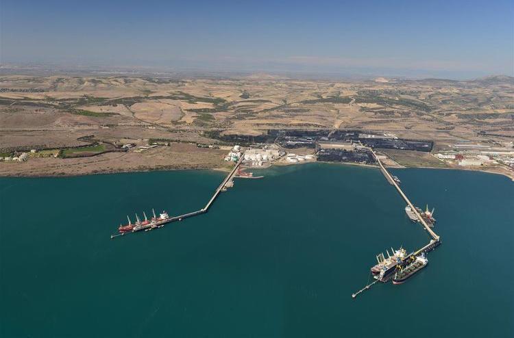 Ceyhan limanından I yarımillikdə 12 mln. ton Azərbaycan nefti ixrac olunub