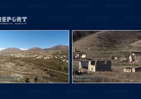 Footage from Hovuslu village of Jabrayil region