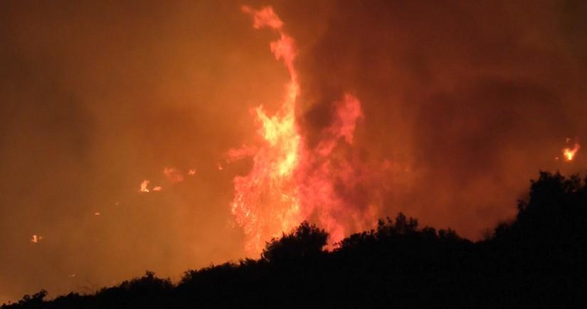 В Италии около 400 человек эвакуировали из-за сильнейших пожаров