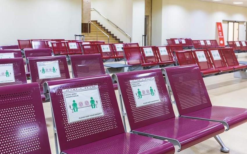 Heydər Əliyev Beynəlxalq Aeroportu koronavirusa görə tədbirlərini genişləndirir