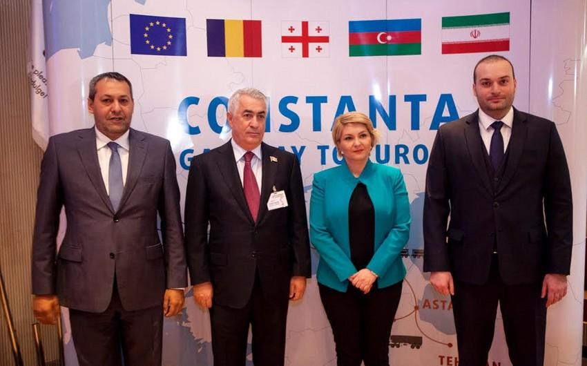Azərbaycan, Gürcüstan, Moldova və Rumıniya dəmiryolu sahəsində protokol imzalayıb