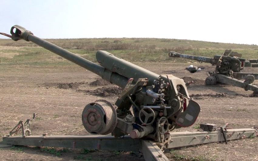 Ermənilərin döyüş meydanında atıb qaçdığı hərbi texnikaların görüntüləri
