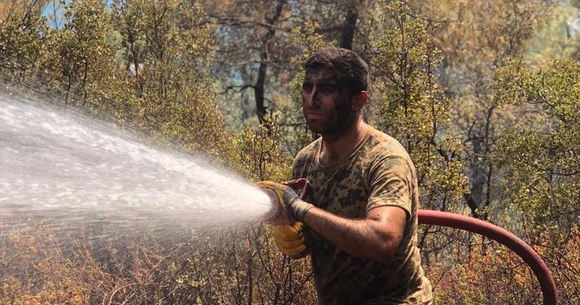 FHN-in yanğınsöndürmə qüvvələri Türkiyədə yanğınlarla mübarizəni davam etdirir